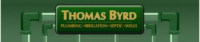 Thomas Byrd - Plumbing, irrigation, septic, wells